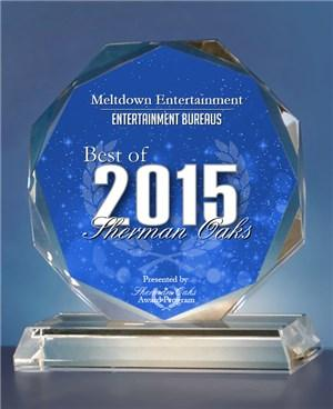 2015 Best of Sherman Oaks Entertaunment Award