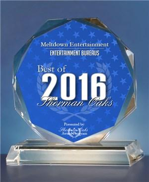 2016 Best of Sherman Oaks Entertainment Award
