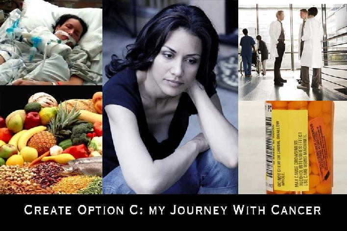 Create Option C: My Journey With Cancer - By Lourdes Colon